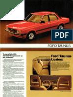 Brochure3381 Ford Taunus 1980 1