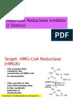 HMG-CoA Reductase Inhibitor