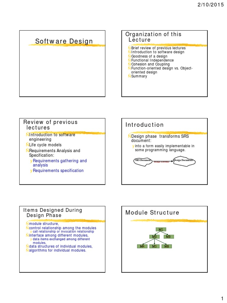 5 Software Design Modularity Object Computer Science Free 30 Day Trial Scribd