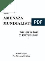 Etayo, Carlos - La Amenaza Mundialista (Scan)
