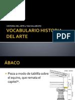 Vocabulario Historia del Arte COMPLETO