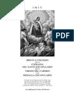 San José, Manuel de - Catecismo de La Cofradía y Sto Escapulario de La Virgen Del Carmen