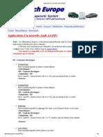 Application à La Nouvelle Audi A3 (8P) Sur Vcds