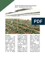 Floriculture Success Story