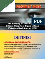 Gawat Darurat Mata by Dr Endang