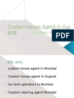 Custom House Agent in Gujarat, India
