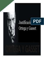 Power Point Justificiación Ortega