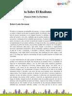Stevenson_Robert Louis-Nota Sobre El Realismo (Ensayos Sobre La Escritura)