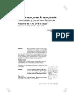 Analisis Para Ana Lydia Vega
