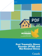 PTSD War Related Stress Disorder
