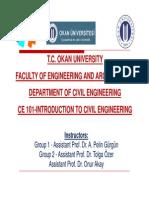 Intro to Civil Engineering
