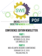 Drexel SWE Conference Edition Newsletter