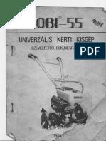 Robi 55 (Robix) Használati útmutató