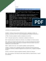 Lista de Comando CMD o MS-DOS