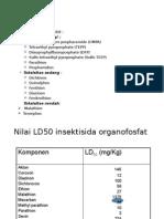 klasifikasi organofosfat