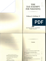 McIlhany, W H - TheTax-Exempt Foundations