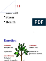 Chapter 11 - Emotions, Stress, And Health