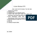 Checklist Dan Cover ukdi