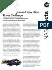14-053 NASA Rover Challenge 2014 Fact Sheet