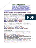 4 Turkish Nouns