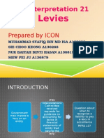 IC Interpretation 21 - Levies