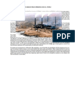 La Industria Minera en El Peru