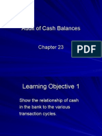 Chapter23 Audit of Cash Balances