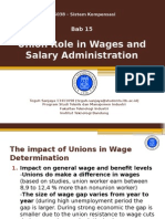 Union Role in Wage Administration