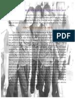 LPNHS Narrative Report