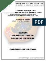 Cespe - Pf 2000 Prova
