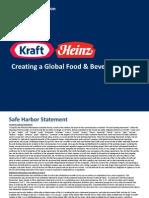 Kraft Heinz Investor Presentation