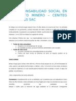La RSE en la minería