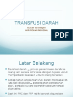 ppt transfusi