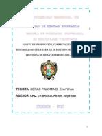 """TESIS II """"COSTO DE  PRODUCCIÓN, COMERCIALIZACIÓN Y RENTABILIDAD DE LA TARA EN EL DISTRITO DE LURICOCHA.docx"""