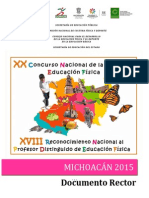 Documento Rector Michoacã-n 2015