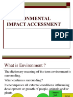 Environmental Impact Accessment Lec1
