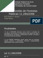 Lei de Gestão de Florestas Públicas