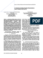 1420801531656 Different Hydrodynamic Model for Gas-phase Propylene Polymemation in a Catalytic Fluidized Bed Reactor
