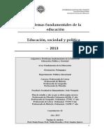 Problemas Fundamentales de La Educacion, PAULA PENAS