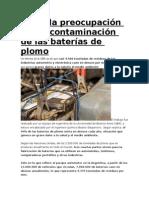 contaminacion con plomo