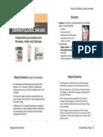 #Dermatologic Drugs 2015-6th Hour-Sheet