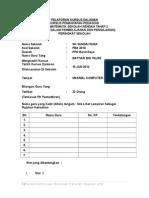 Pelaporan Kursus Dalaman Sekolah PPDTL Dan BD