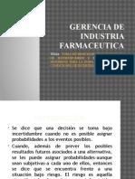Gerencia de Industria Farmaceutica