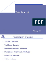 project on tata tea