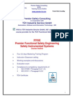 Supplement Invensys Premiersafetyconsultingservices-tuvfsengtrainingprogramoverview 03-10