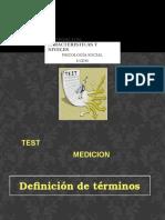 La Medición, Caracteristicas y Niveles Sesion 3