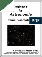 Referat La Astronomie
