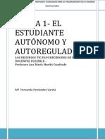 El Estudiante Autonomo y Autorregulado Tarea1