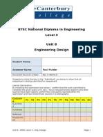Unit 8 Assessment Booklet