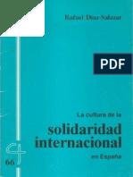 CJ 66, La Cultura de La Solidaridad Internacional en España - Rafael Díaz-Salazar